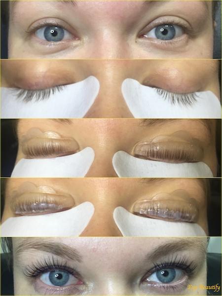 Lash Lift and Lash Botox treatment procedure- www